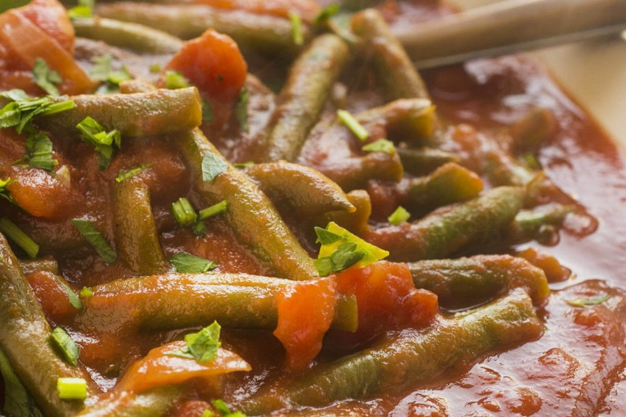 My Chef Kathy - Italian Style Stewed Green Beans