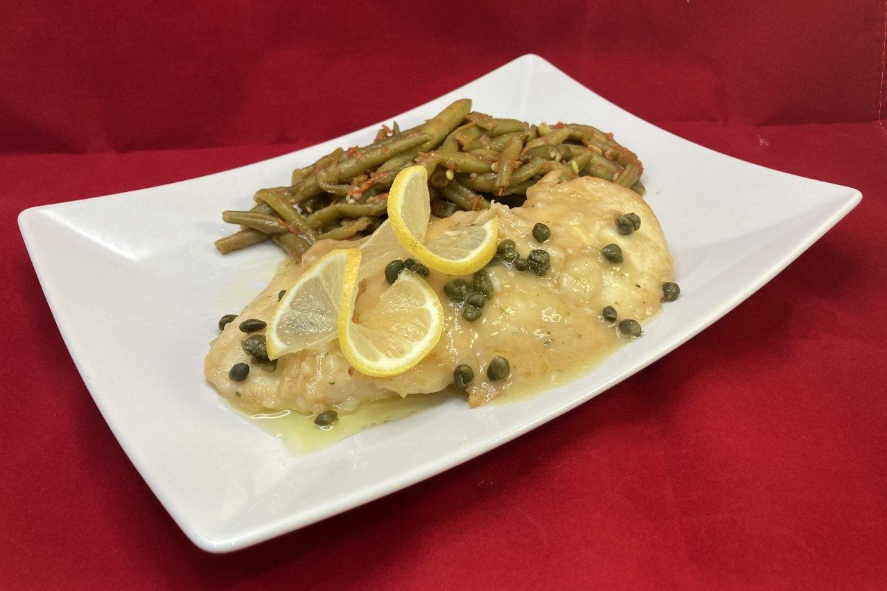 My Chef Kathy - Chicken Piccata & Italian Stewed Green Beans