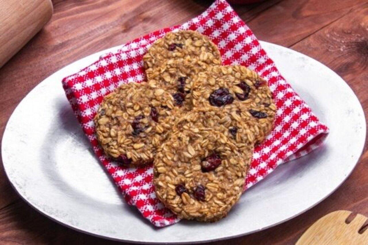 "Cafe Cookie Company - Oatmeal Cranberry ""Wakeup"" Bars"