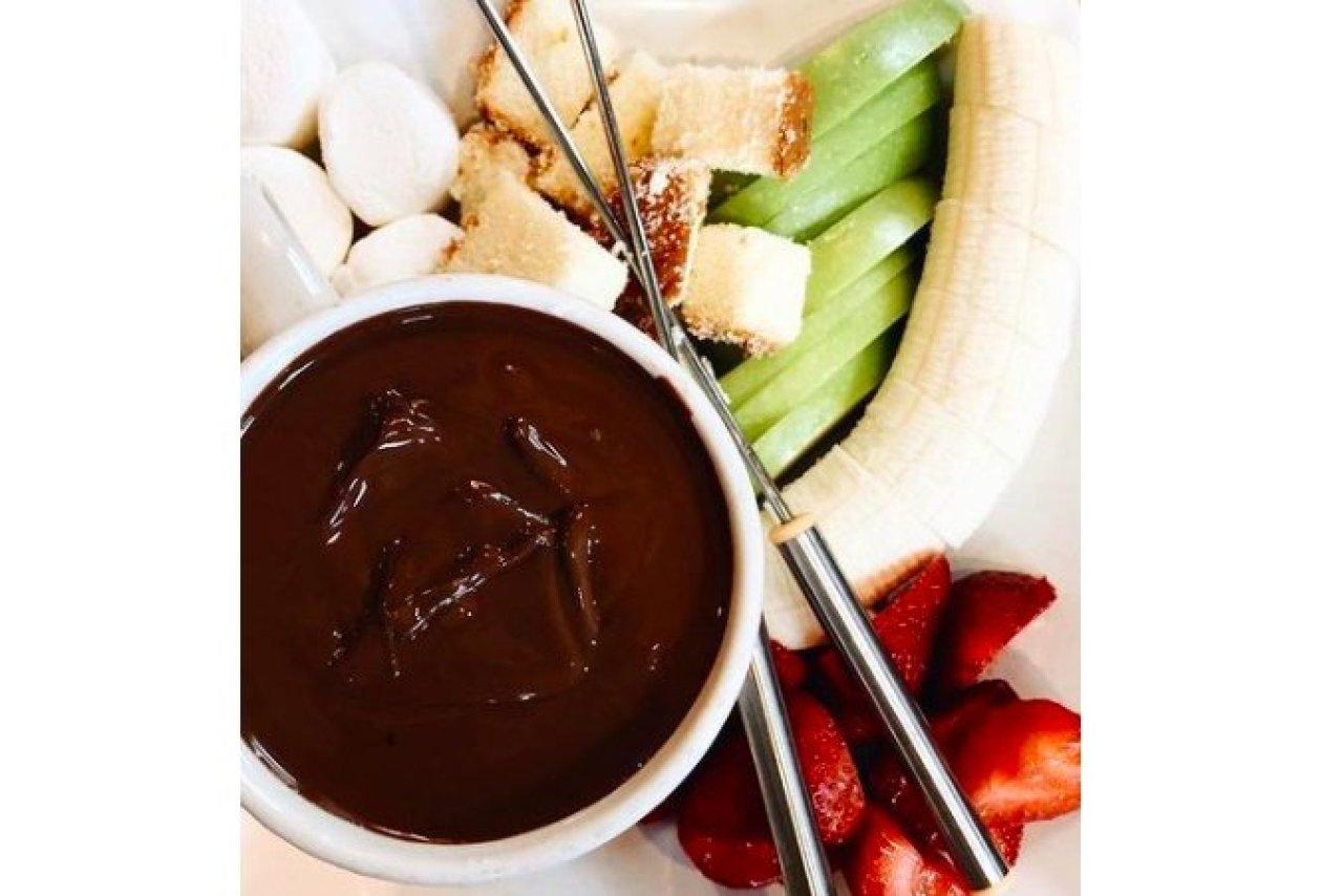 Choo Choo Charcuterie - Chocolate Fondue