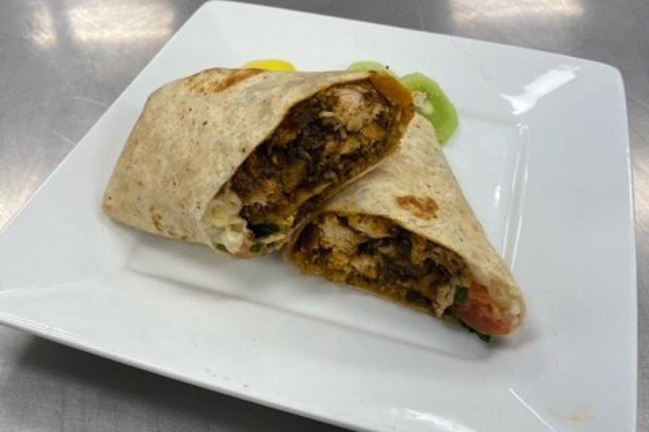 Twist of Culture Cuisines - Jerk Chicken Wrap