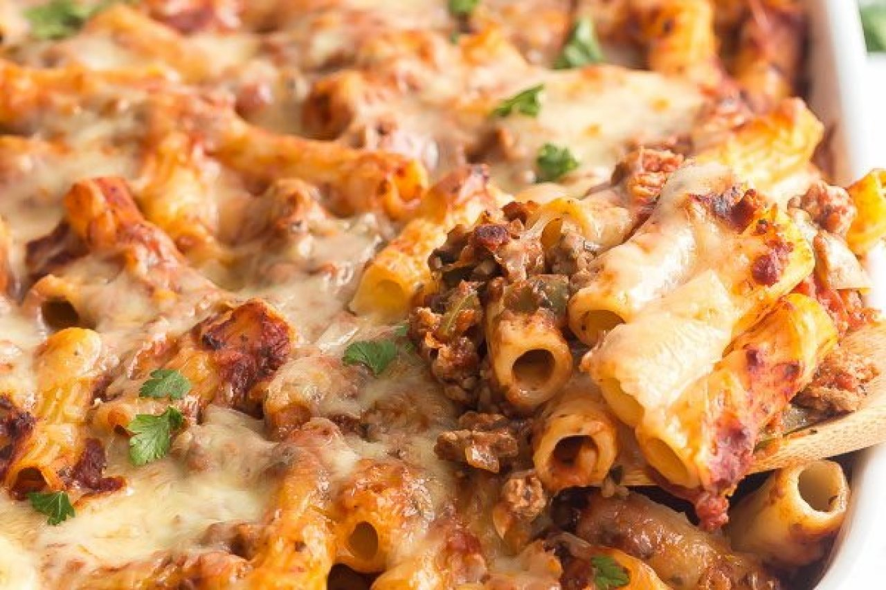 My Chef Kathy - Baked Ziti with Sausage