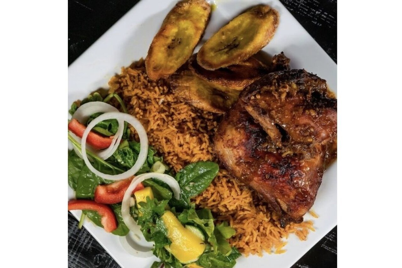 Twist of Culture Cuisines - BBQ Chicken Plate