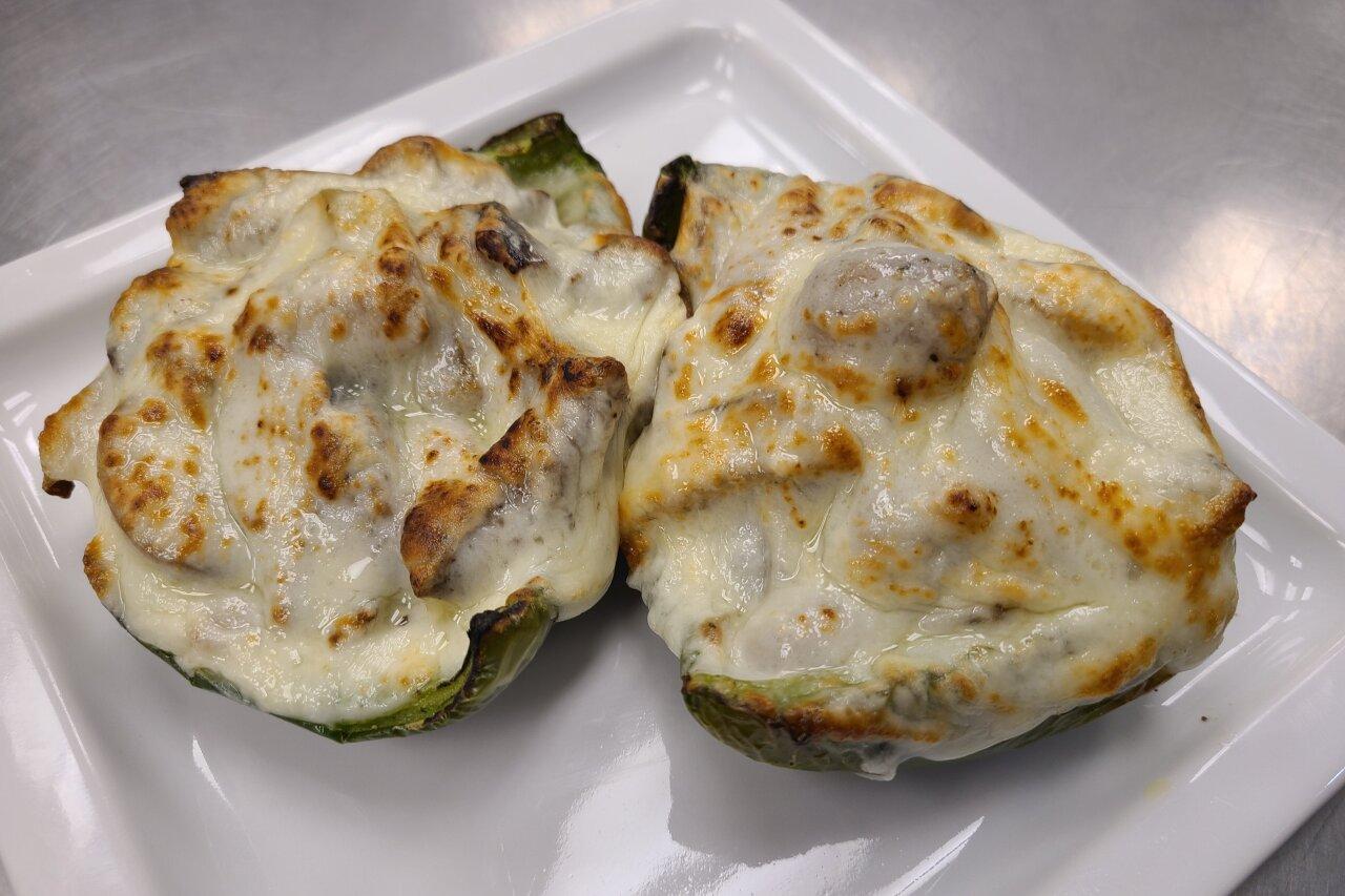Matrix Comfort Foods - Keto Philly Cheesesteak Stuffed Peppers