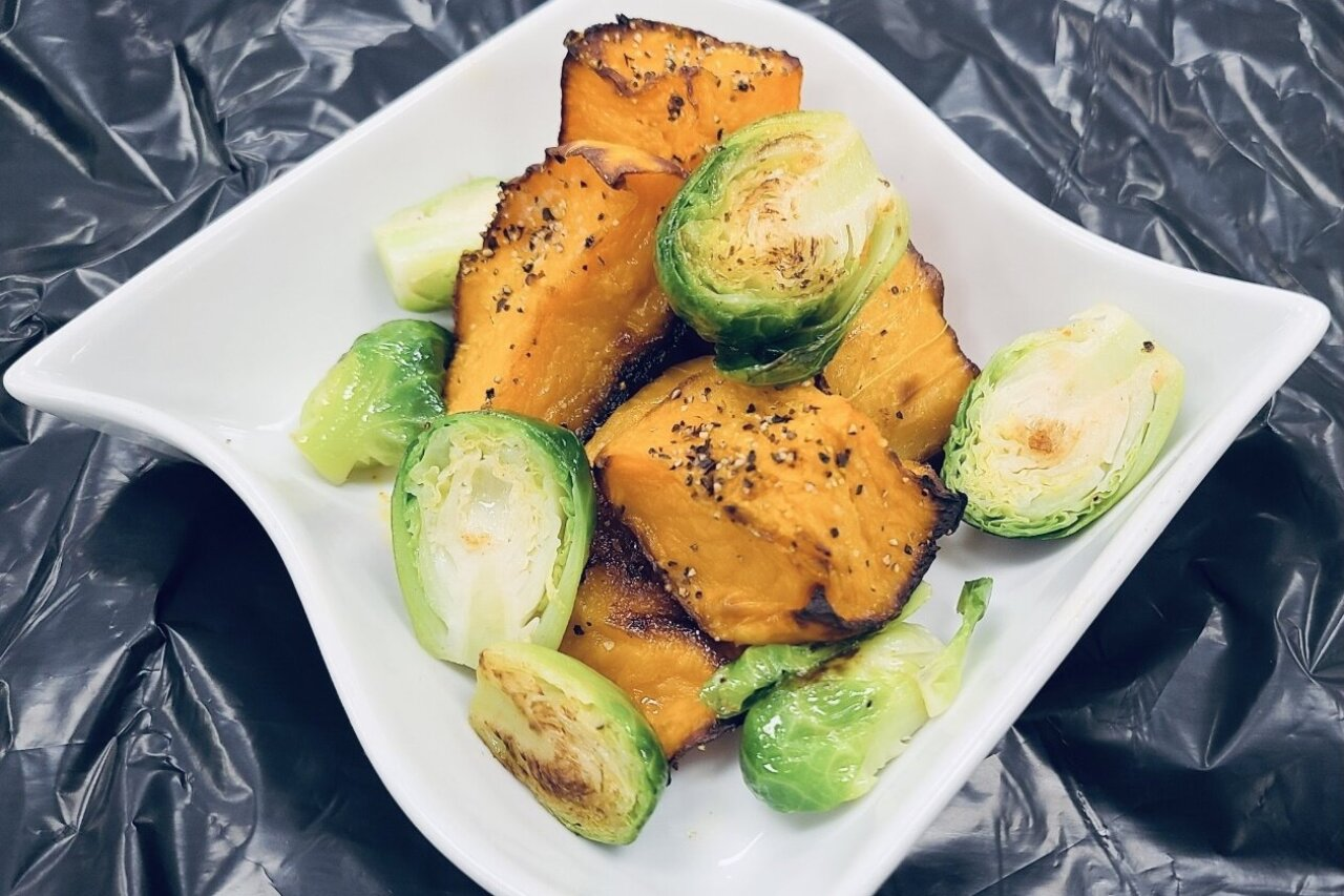 Twist of Culture - Roasted Butternut Squash & Brussels Sprouts