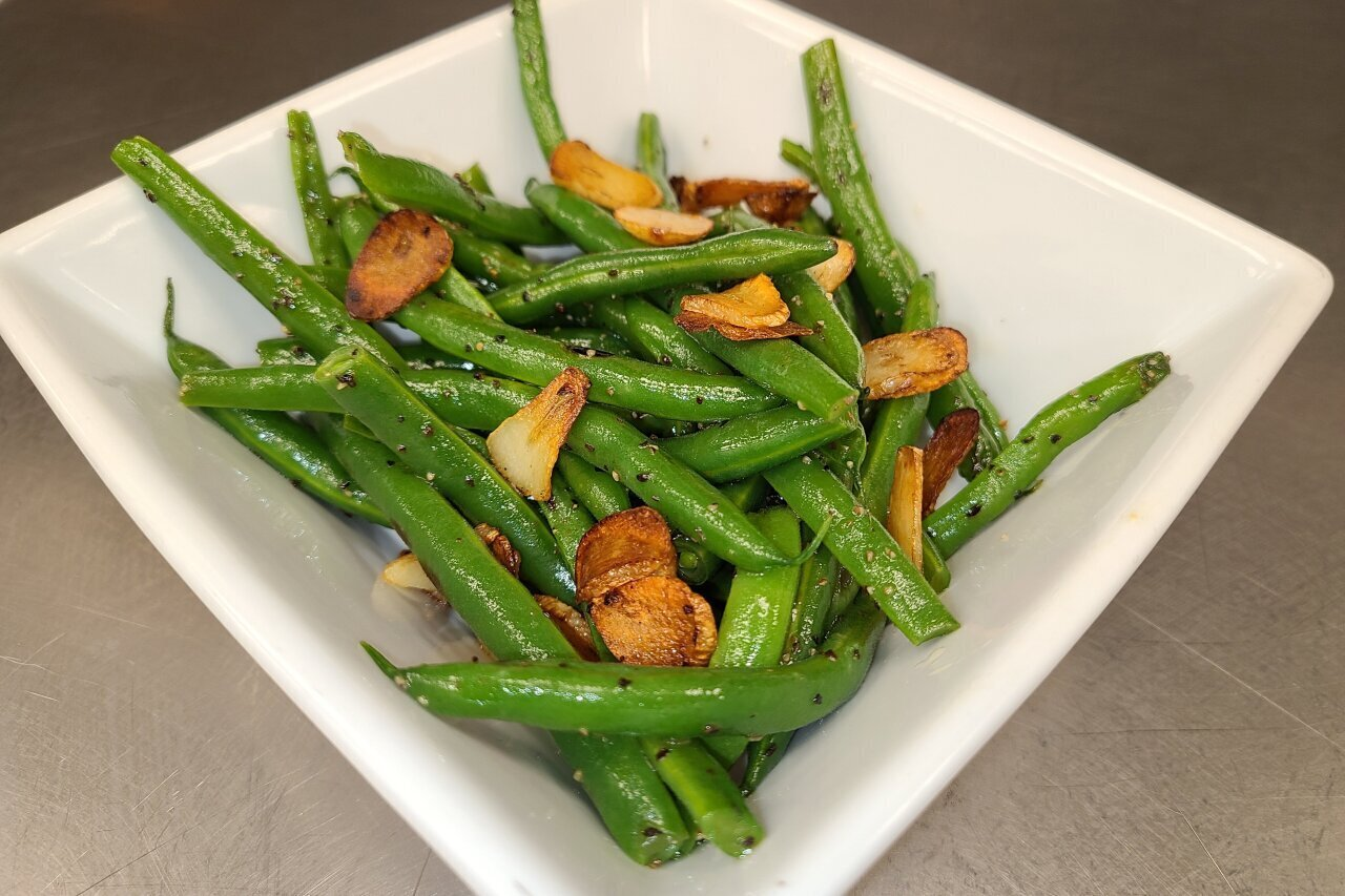 Twist of Culture - Green Beans with Garlic