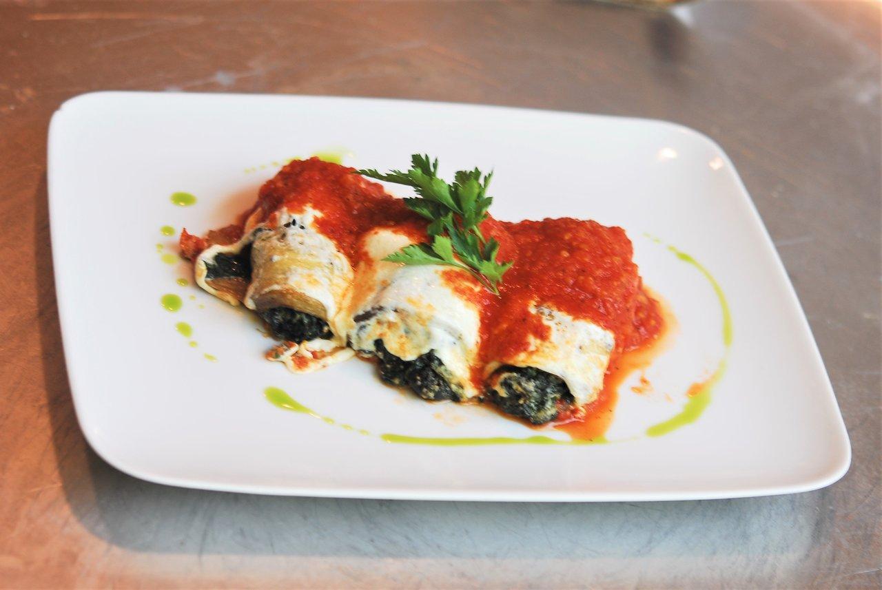 Vegetable Eggplant Rollatini