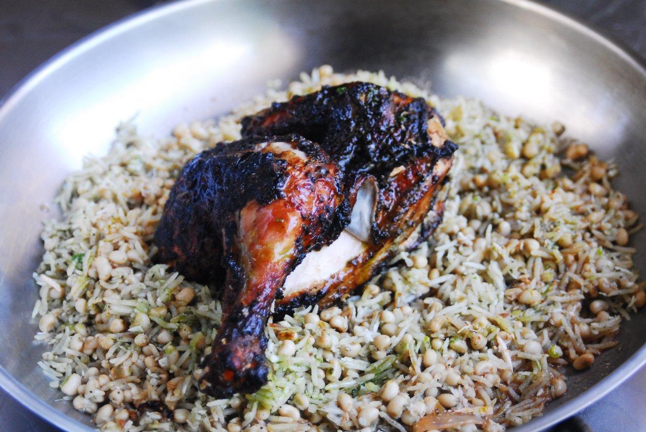 Caribbean Jerk Half Chicken