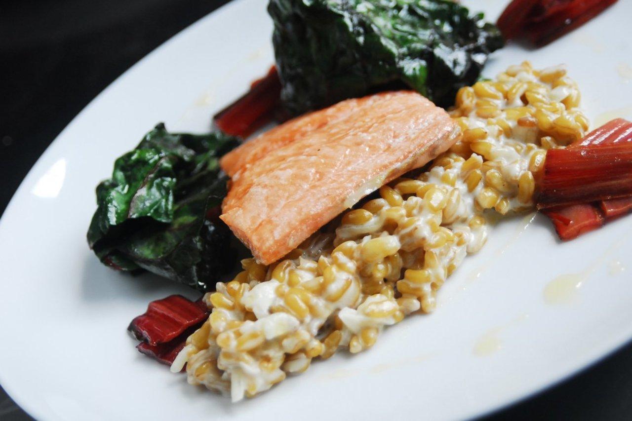 Classic Seared Salmon & Chard