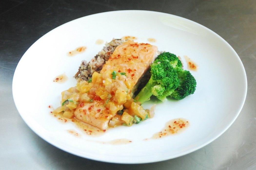 Classic Habanero Glazed Salmon