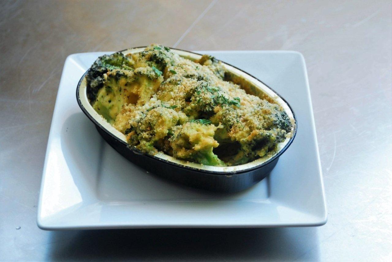 Broccoli Cheddar Bake