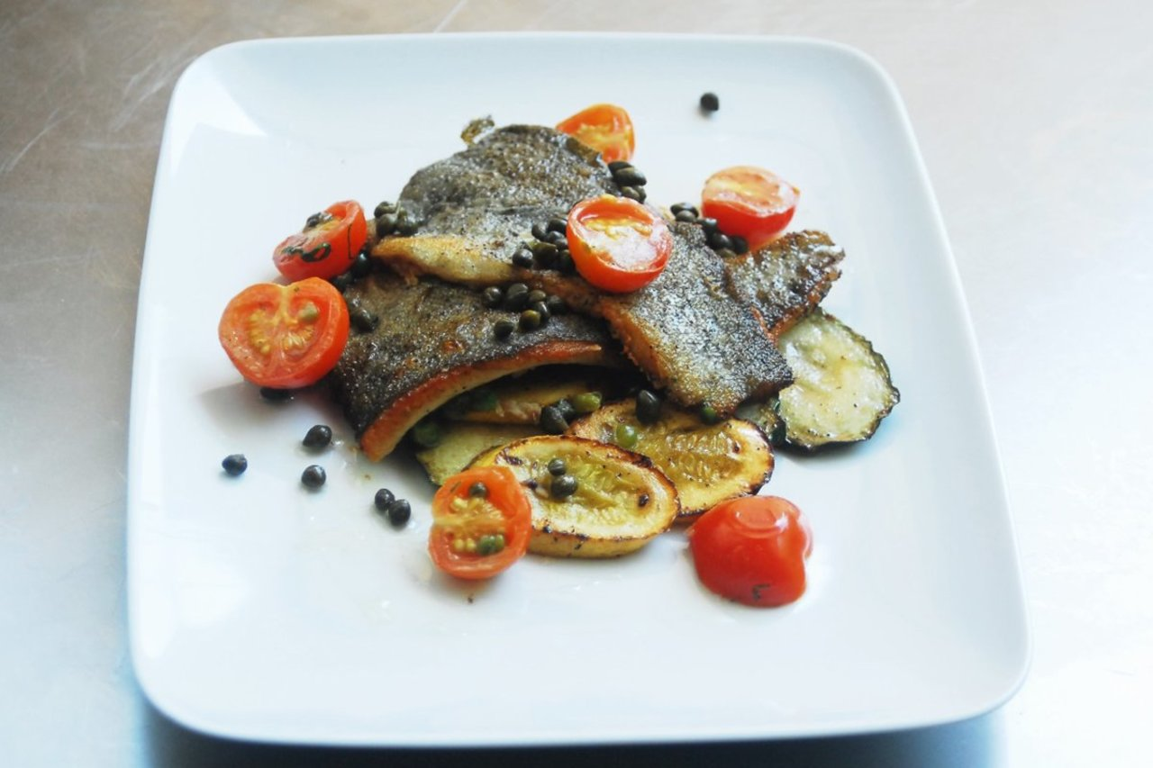 Paleo Pan Seared Catfish