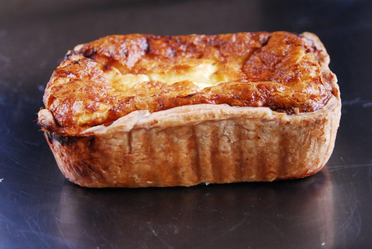 Bacon & Three Cheese Quiche