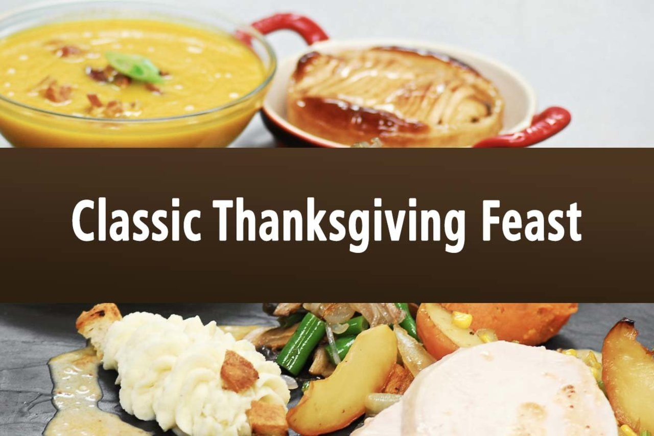 Classic Thanksgiving Feast - Serves 1