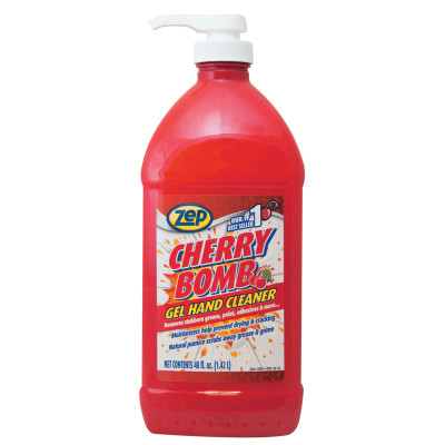 Cherry Bomb Gel Hand Cleaner, Bottle, 48 oz
