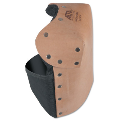 Leather Knee Pads, Neoprene strap; Buckle, Saddle