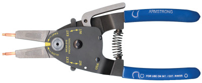 "RETAIN RING PLIERS  2"" CAP INT/EXT WIT"
