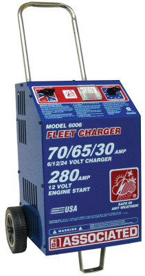 Heavy Duty Fast Chargers, 75 A; 65 A; 30 A, Boost 600 A