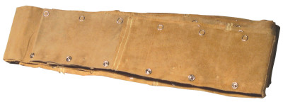 Golden Willow Cable Covers, 1 1/4 in dia., Tanned Leather, 23 ft