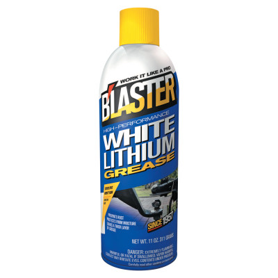 White Lithium Grease, 16 oz Aerosol Can