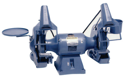 "10"" Industrial Grinders, 1 1/2 hp, Three Phase, 1,800 rpm"