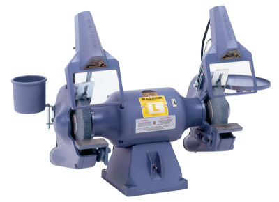 "10"" Deluxe Industrial Grinders, 1 hp, Single Phase, 1,800 rpm"
