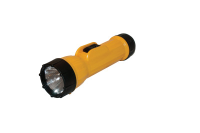 LED 2618 Industrial Flashlights, 2 D, 40 lumens