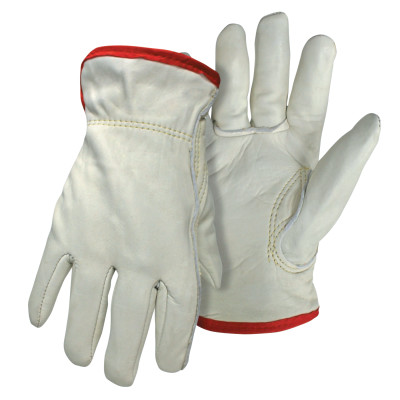 Grain Cowhide Driver Gloves, 2X-Large