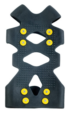 Trex 6300 Ice Traction Foot Covers, Medium, Rubber, Black
