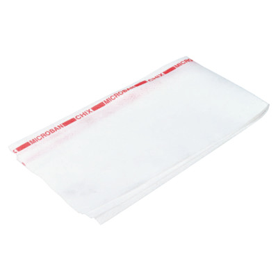 Chix Reusable Food Service Towels, Fabric, 13 1/2 x 24, White