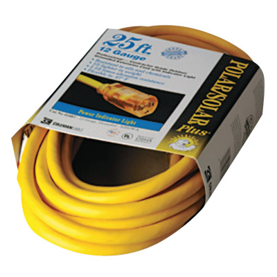 Polar/Solar Extension Cord, 25 ft