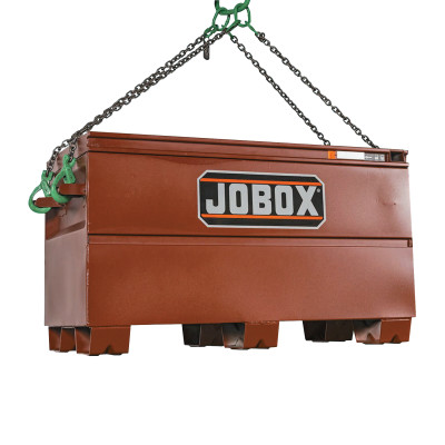 Heavy-Duty Lifting Chests, 48 in x 24 in x 27 3/4 in, Brown