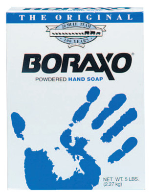 Boraxo Powdered Hand Soaps, Unscented, Box
