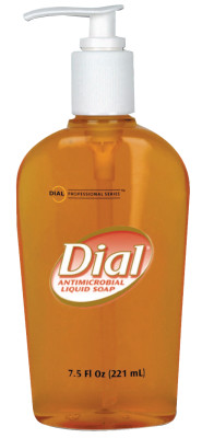Liquid Dial Gold Antibacterial Soaps, Pump Bottle, 7 1/2 oz