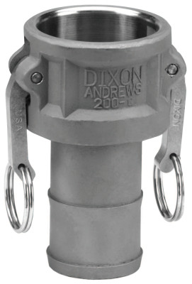 Andrews Type C Cam and Groove Couplers, 1 in