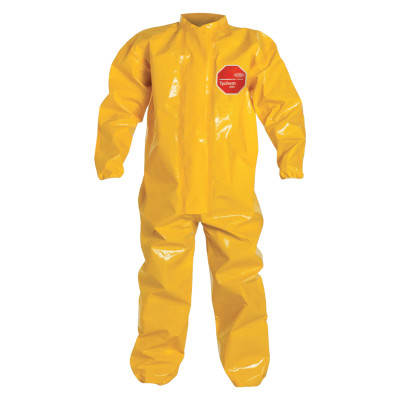 Tychem BR Coveralls with Elastic Wrist and Ankles, LG