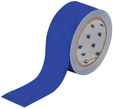ToughStripe Floor Marking Tape, 2 in x 100 ft, Blue