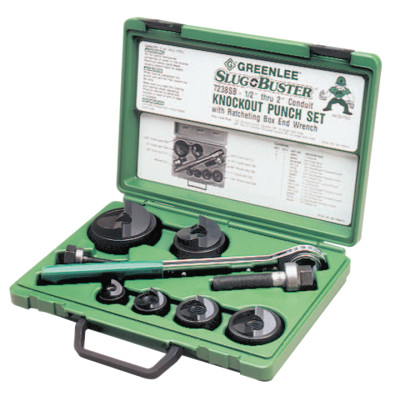 Slug-Buster Knockout Kits, 1/2 in - 2 in