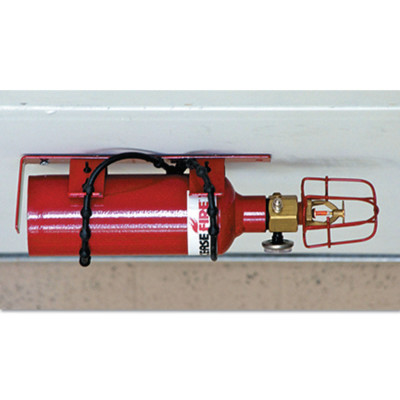 Fire Protection Systems, 2 Drum Locker, 3.4 lb Cap. Wt.