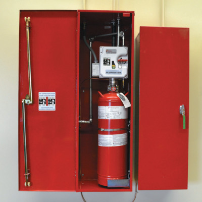 Fire Suppression Systems, For A, B, C Fires, 21 lb Cap. Wt.