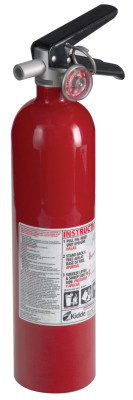 Pro Consumer Fire Extinguishers, For Common Combustibles, 2.6 lb Cap. Wt.