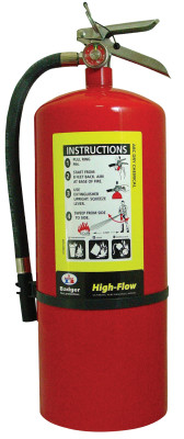 Oil Field Fire Extinguishers, For Class A, B and C Fires, 10 lb Cap. Wt.