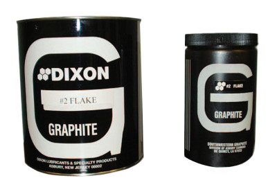 Large Lubricating Flake Graphite, 1 lb Can