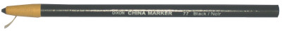 China Markers, 7 in, Black
