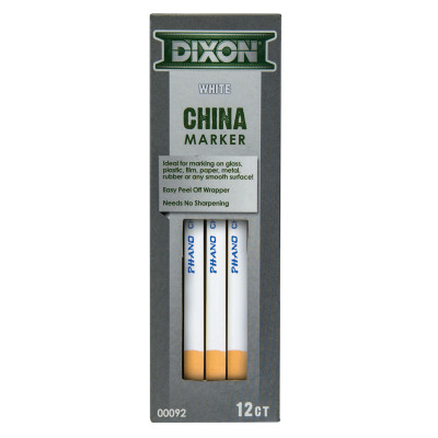 Phano China Markers, White