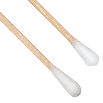 Cottontip Swabs, Double Headed, 6 in Long, White