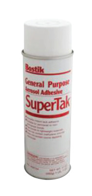 Supertak General Purpose Adhesives, 17 oz, Aerosol Can