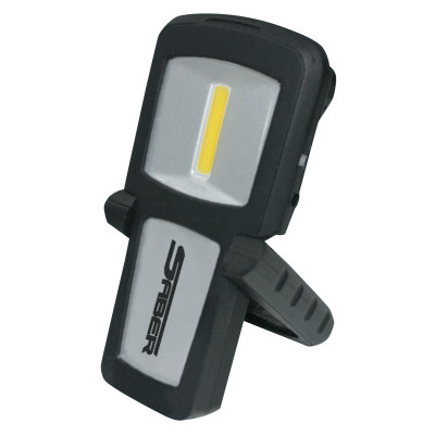 Rechargeable LED Pocket Light, 1.3 W, 120 Lumens, Black