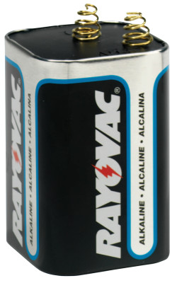Lantern Batteries, Maximum Alkaline, 6 V
