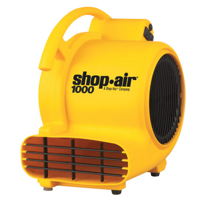 Air Movers, 3.5 A, 120 V, 10 ft Cord